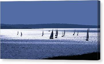Blue Armada II Canvas Print
