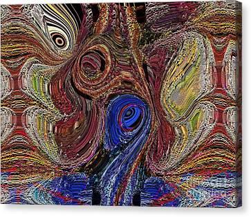 Blue Bayou Canvas Print by Kathie Chicoine