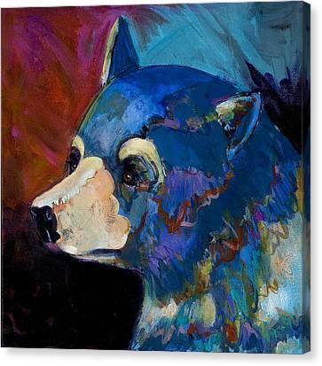 Blue Bear II Canvas Print by Bob Coonts