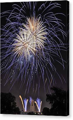 Blue Blast Canvas Print