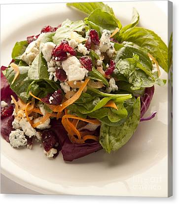 Blue Cheese Salad Canvas Print by New  Orleans Food