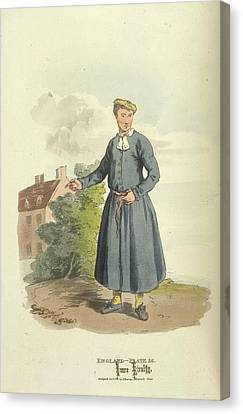 Blue-coat Boy Canvas Print by British Library