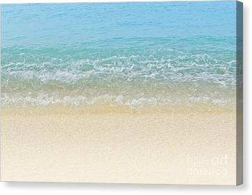 Blue Crush Canvas Print