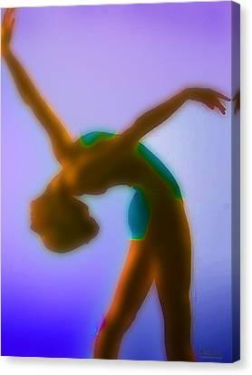 Blue Dance Canvas Print by Tony Rubino