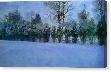 Blue Dawn Canvas Print by RC deWinter