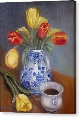Blue Delft Canvas Print