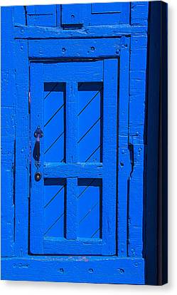 Blue Door Canvas Print by Garry Gay