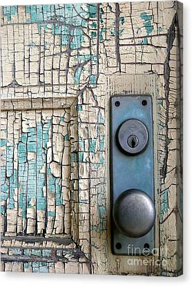 Blue Door Canvas Print by Robert Riordan