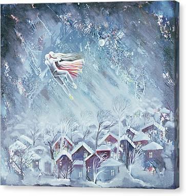 Blue Dream, 1983 Oil On Canvas Canvas Print