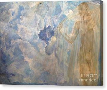 Blue Dream Canvas Print by Delona Seserman