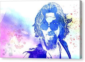 Blue Dude Canvas Print