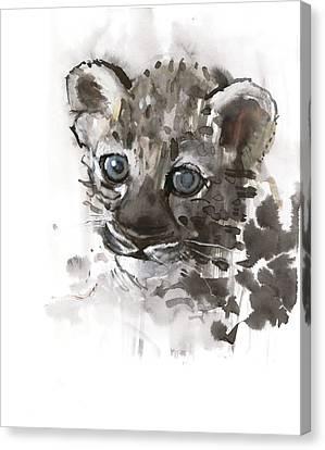 Blue Eyes Canvas Print by Mark Adlington