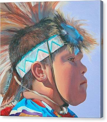 Blue Falcon Canvas Print
