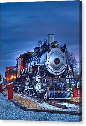 Blue Ghost - Engine 509 Canvas Print by Douglas Barnett