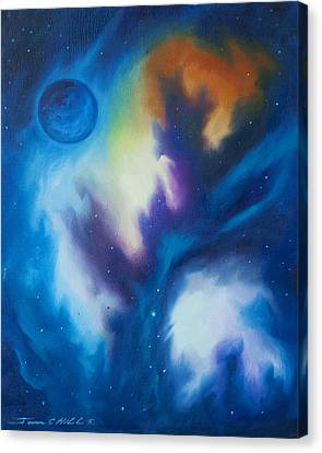 Blue Giant Canvas Print by James Christopher Hill