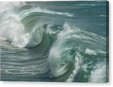 Blue Glass  Canvas Print