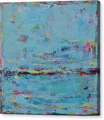 Blue Harmony Canvas Print