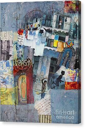 Apartment Canvas Print - Blue Havana by Elena Nosyreva