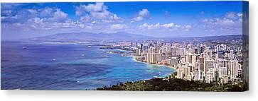 Blue Hawaii Canvas Print by Les Palenik