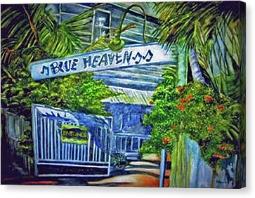 Blue Heaven Key West Canvas Print