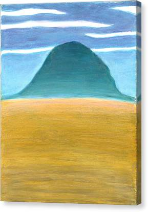 Blue Hill Canvas Print