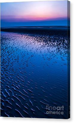 Blue Hour  Canvas Print by Adrian Evans