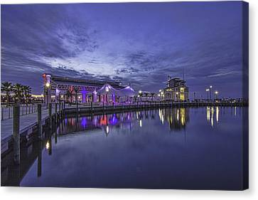 Blue Hour Dawn Canvas Print by Brian Wright