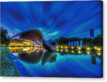 Blue Hour Kulture Haus Canvas Print by Nathan Wright