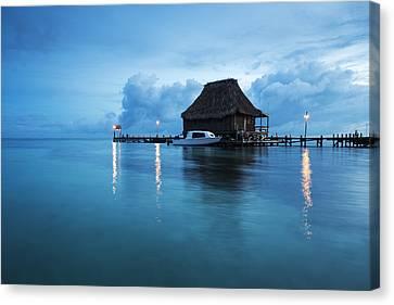 Blue Hour Landscape Canvas Print