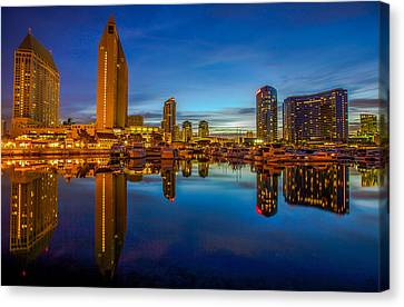 Blue Hour Canvas Print