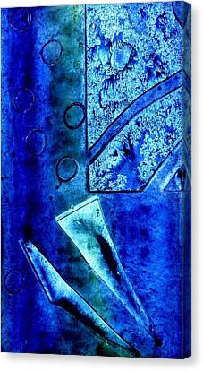 Blue I Canvas Print