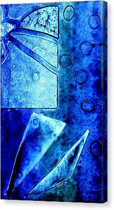 Blue   II Canvas Print