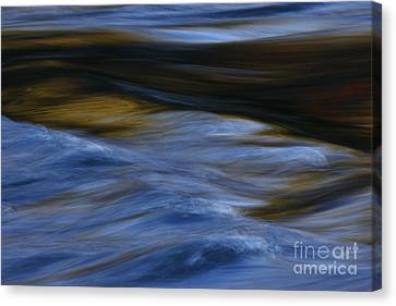 Canvas Print featuring the photograph Blue Georgia Impressions by John F Tsumas