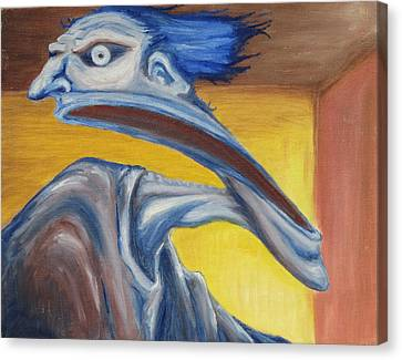Blue - Internal Canvas Print by Jeffrey Oleniacz