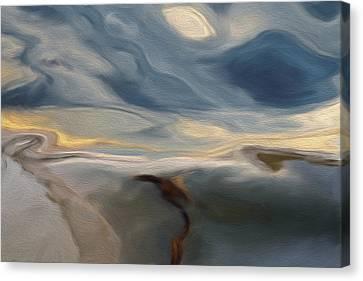 Alt Canvas Print - Blue by Jack Zulli