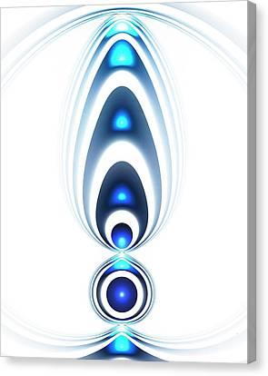 Blue Light Canvas Print by Anastasiya Malakhova