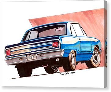 Blue Malibu Canvas Print by Paul Kim