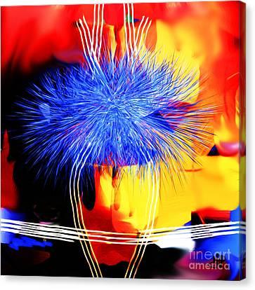 Blue Memories Canvas Print by Hai Pham