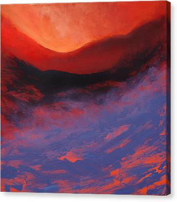 Blue Mist Rising Canvas Print by Neil McBride