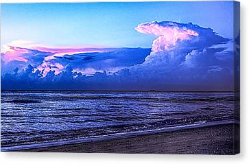 Blue Morning Canvas Print by Don Durfee