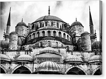 Sultanhmet Canvas Print - Blue Mosque by John Rizzuto