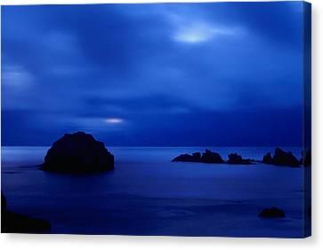 Blue Mystique Canvas Print by Ken Dietz