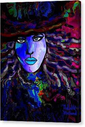 Blue Mystique Canvas Print by Natalie Holland