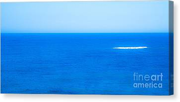 Blue Canvas Print by Nabucodonosor Perez
