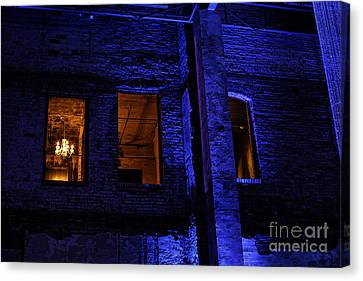Blue Night Canvas Print by Kate Purdy