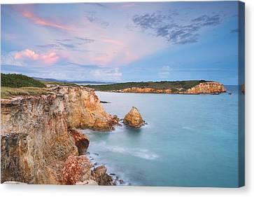 Blue Paradise Canvas Print by Photography  By Sai