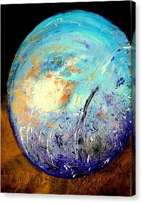 Blue Planet Canvas Print