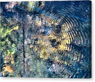 Blue Pool II Canvas Print