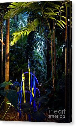 Blue Rainforest Canvas Print