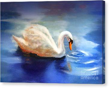 Blue Reflection Canvas Print by Michael Rock